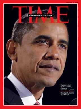 Une du magazine Times, Barack Obama