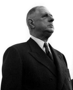 Le Général de Gaulle, père de V° République